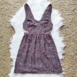 UO Coincidence & Chance Multicolor Cutout Dress